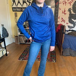 Blue Thermal Activewear Sweater